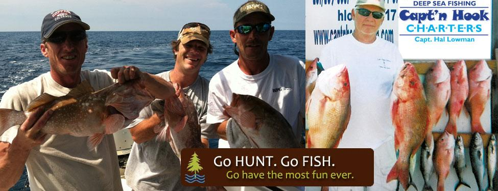 Panama city beach deep sea fishing with capt 39 n hook and for Deep sea fishing in panama city beach