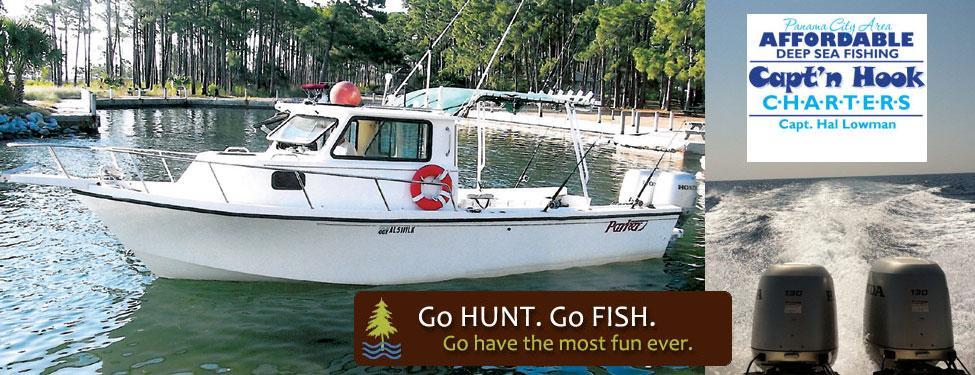 Panama city beach deep sea fishing with capt 39 n hook and for Deep sea fishing panama city beach fl
